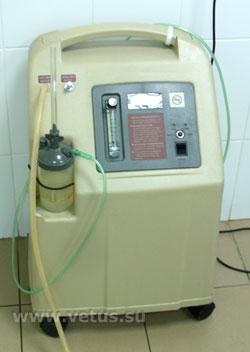 концентратор кислорода для собак и кошек, ветклиника Санкт-Петербурга
